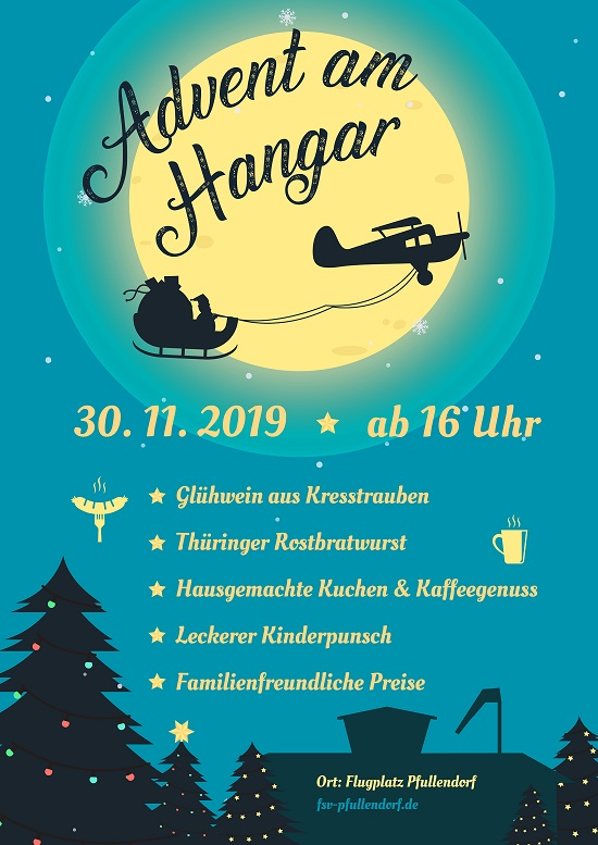 Advent am Hangar